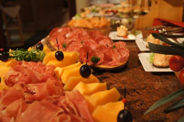 Starter buffet