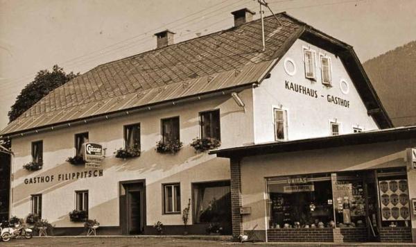 Kaufhaus und Gasthof