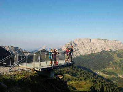 Panoramaterrasse am Nassfeld